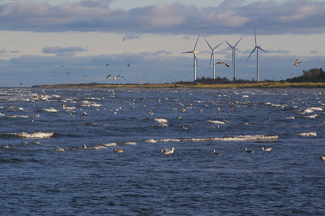 wind turbines and tidal energy