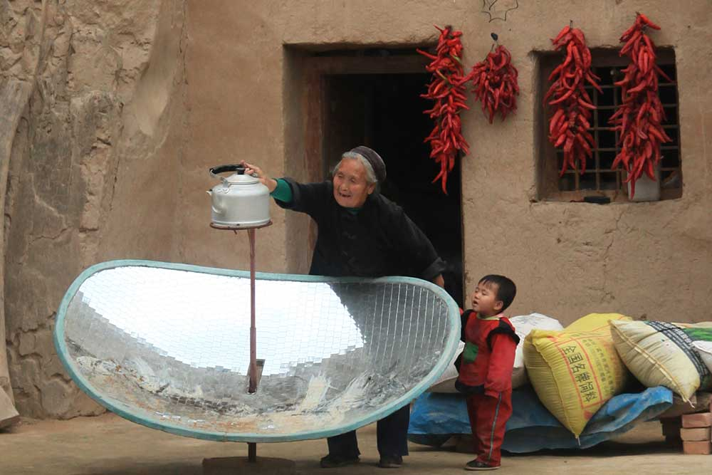 Hequing Solar Cookers in China