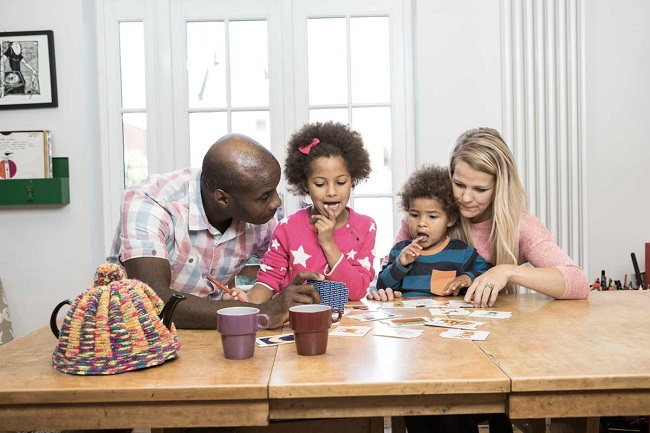 A family contacting Bristol Energy's customer service
